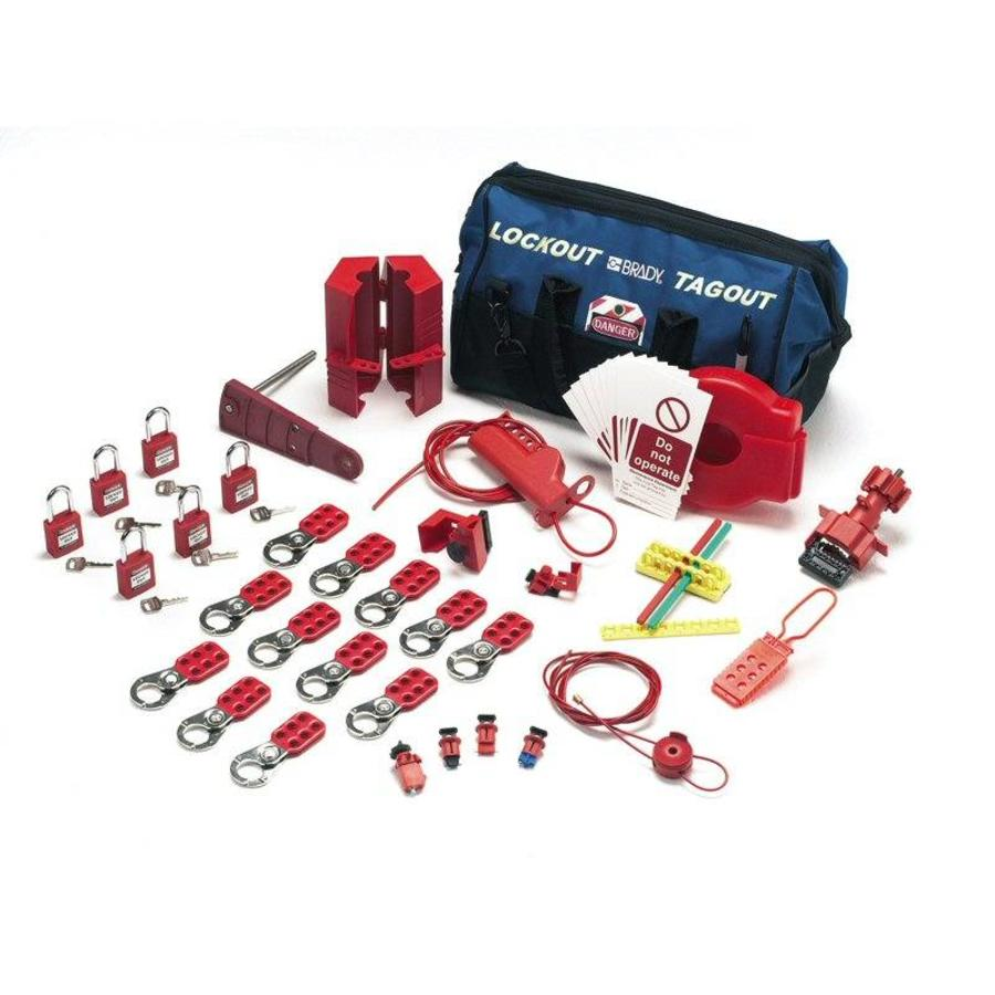Vergrendelingskit voor kranen en elektrische gevaren 806179