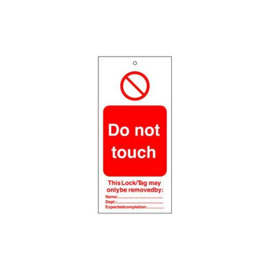 Warning tags English