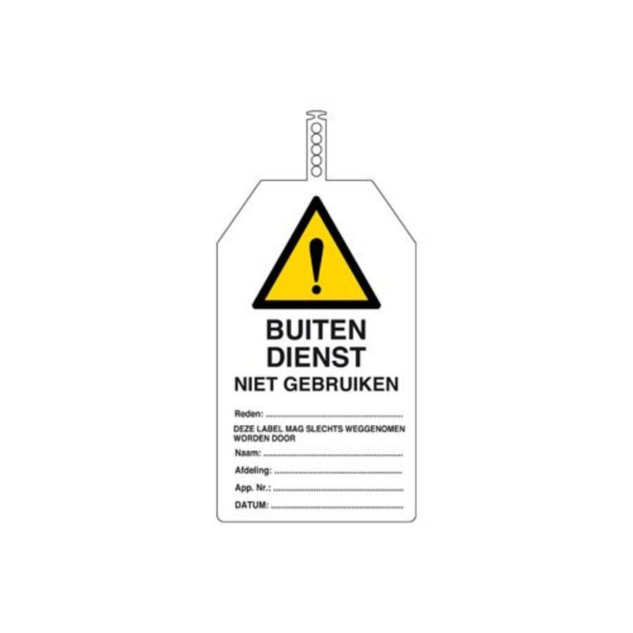 Veiligheidstags Nederlands