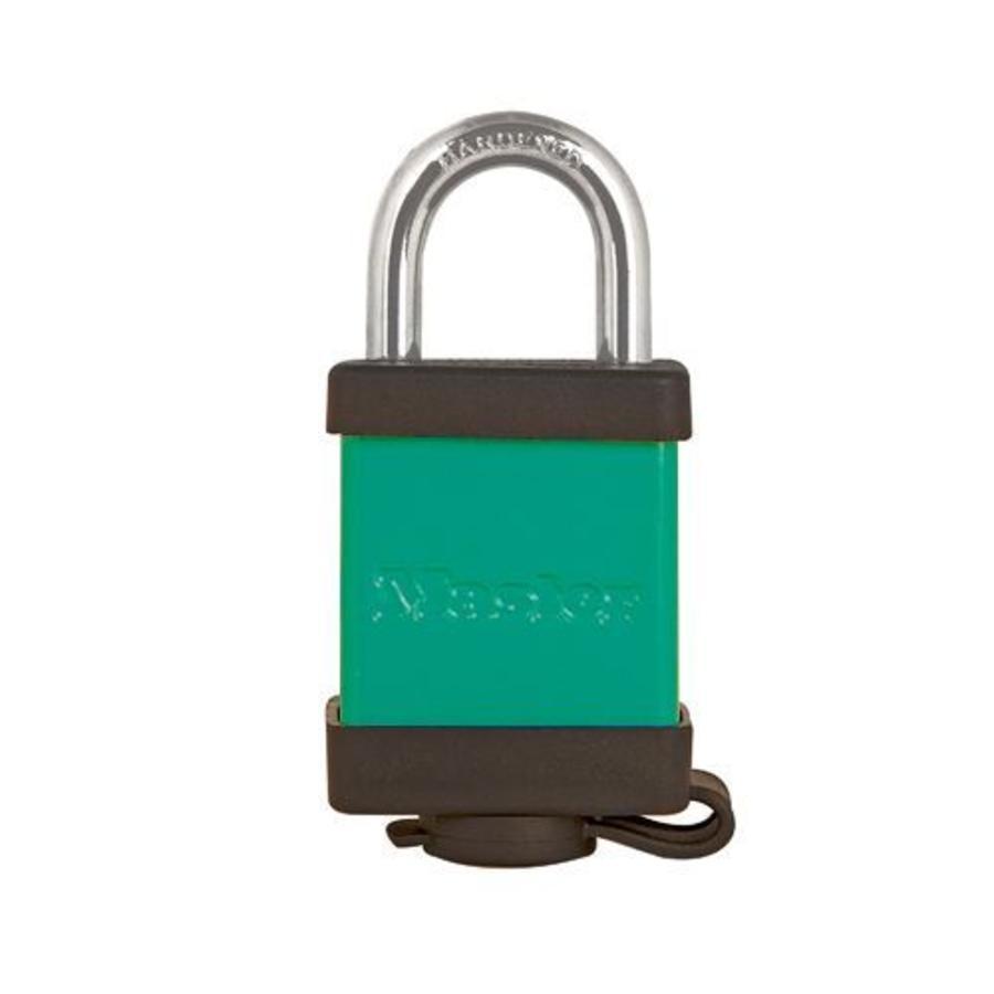 Sicherheitsvorhängeschloss aus Aluminium grün S6835GRN