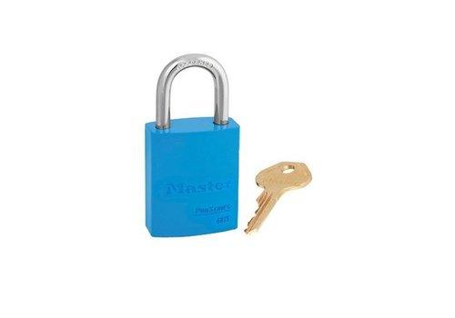 Sicherheitsvorhängeschloss aus Aluminium blau S6835BLU