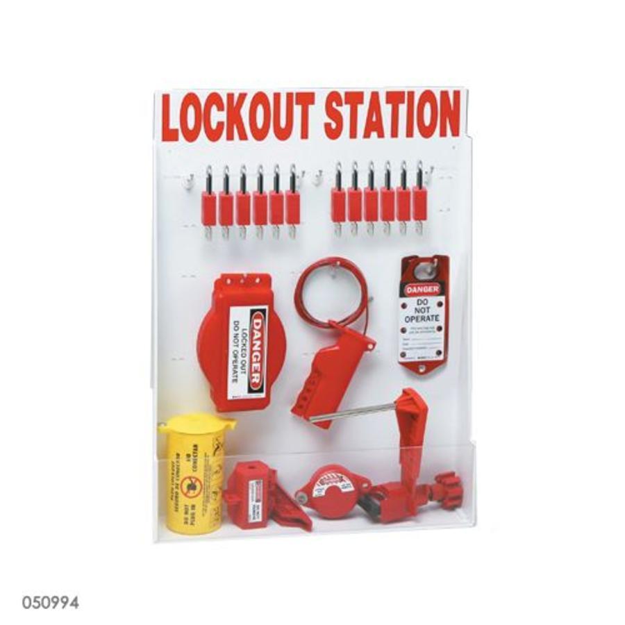 Adjustable lockout station 050997