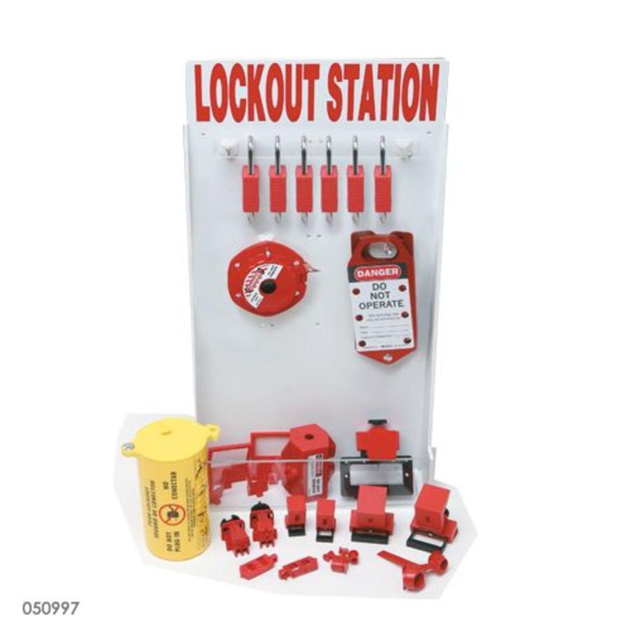 Aanpasbaar lockout station 050997