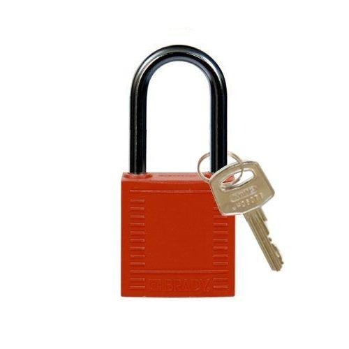 Nylon Kompakte Sicherheits-vorhängeschloss rot 814126