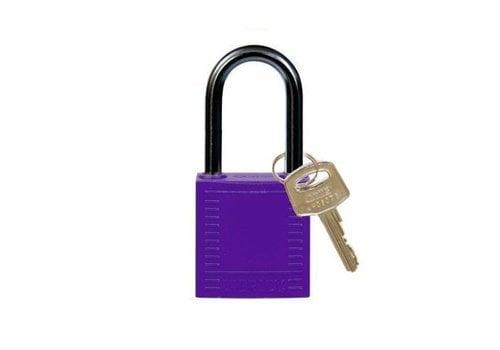 Nylon Kompakte Sicherheits-vorhängeschloss lila 814131