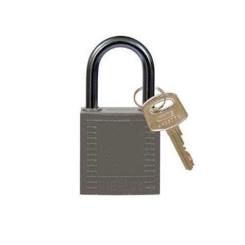 Nylon Kompakte Sicherheits-vorhängeschloss grau 814123