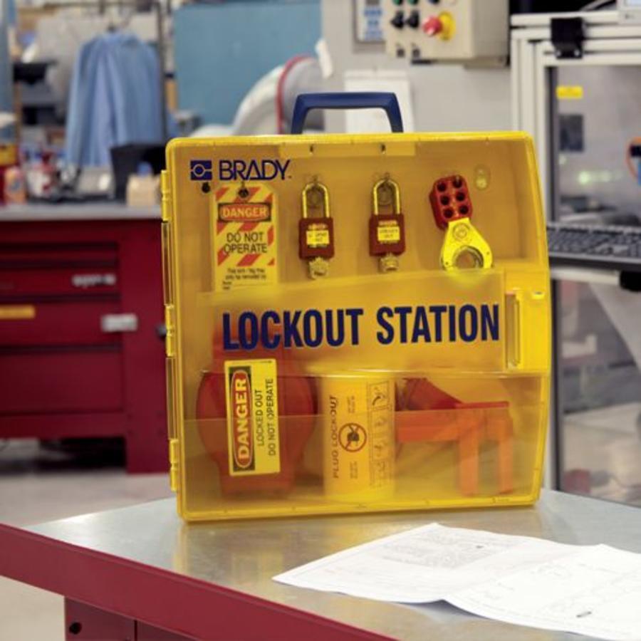 Draagbaar lockout station 811217