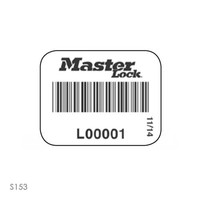 Hangslotsticker met barcode (100 stuks) S150-S153
