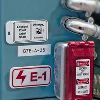 Hangslotsticker met RFID HF barcode (25 stuks) S151-S152