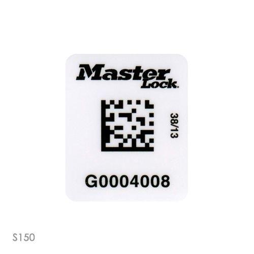 Hangslotsticker met RFID HF barcode S151-S152