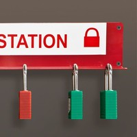 Lock-out station 800120-800121