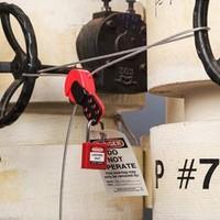 Safelex cable lockout 145554