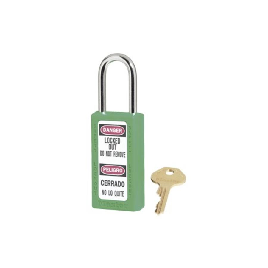 Zenex safety padlock green 411GRN - 411KAGRN