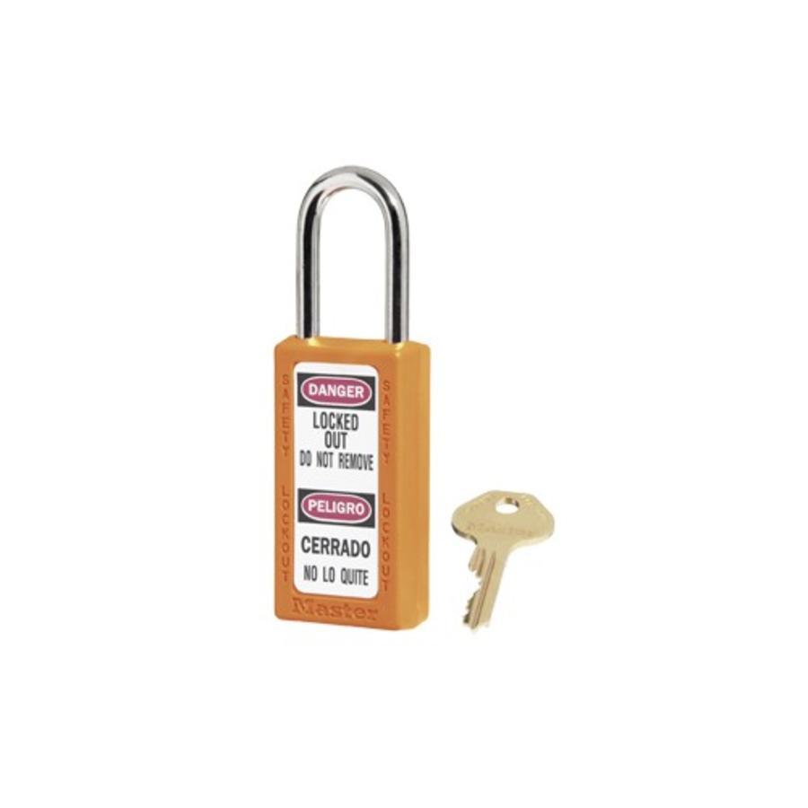 Zenex Sicherheits-vorhängeschloss orange 411ORJ - 411KAORJ