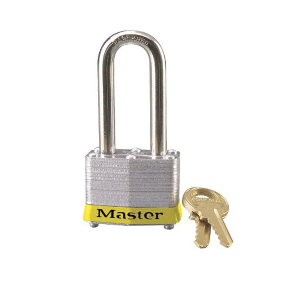 Laminated steel padlock yellow 3LHYLW