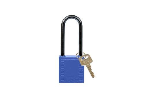 Nylon Kompakte Sicherheits-vorhängeschloss blau 814134