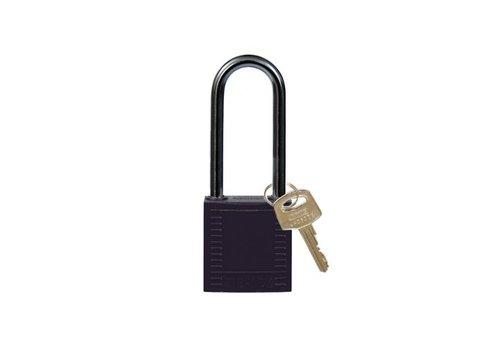 Nylon Kompakte Sicherheits-vorhängeschloss schwarz 814135