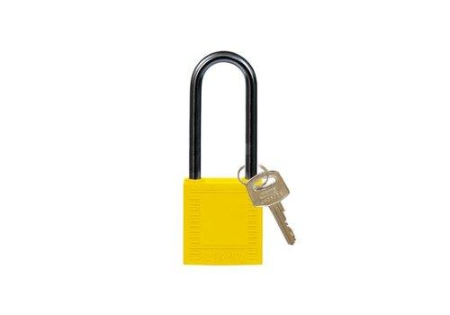 Nylon Kompakte Sicherheits-vorhängeschloss gelb 814137