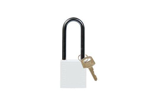 Nylon Kompakte Sicherheits-vorhängeschloss weiss 814142