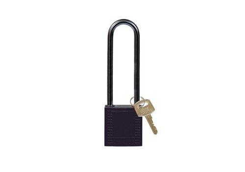 Nylon compact safety padlock black 814145