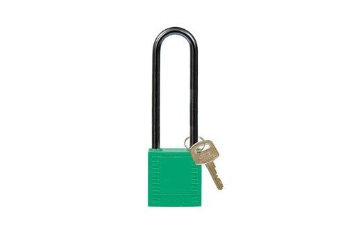 Nylon Kompakte Sicherheits-vorhängeschloss grün 814148
