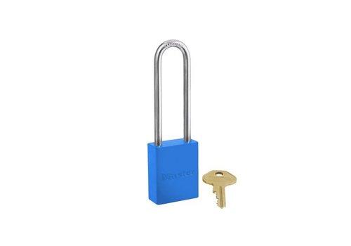 Sicherheitsvorhängeschloss aus Aluminium blau S6835LTBLU