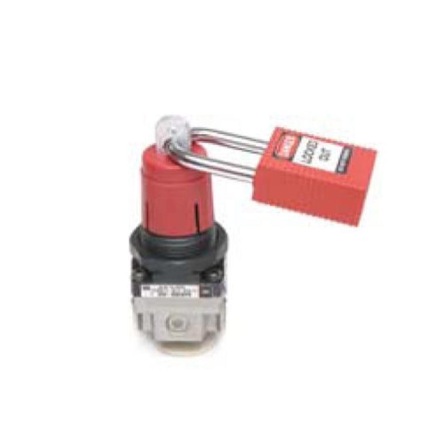 SMC air line regulator lockout device 064540-064539