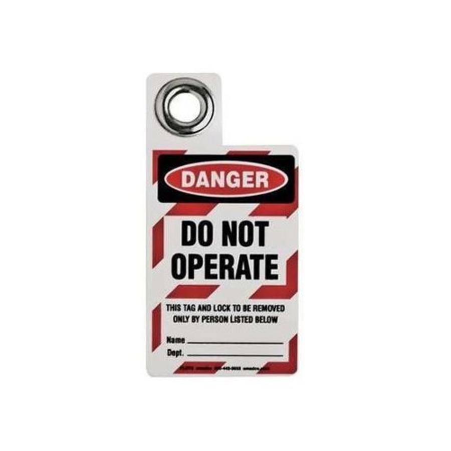 Tags voor hangsloten 105722 - 105723  - 105724
