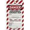 Brady Waarschuwingstag ''EQUIPMENT LOCKED OUT'' 105370