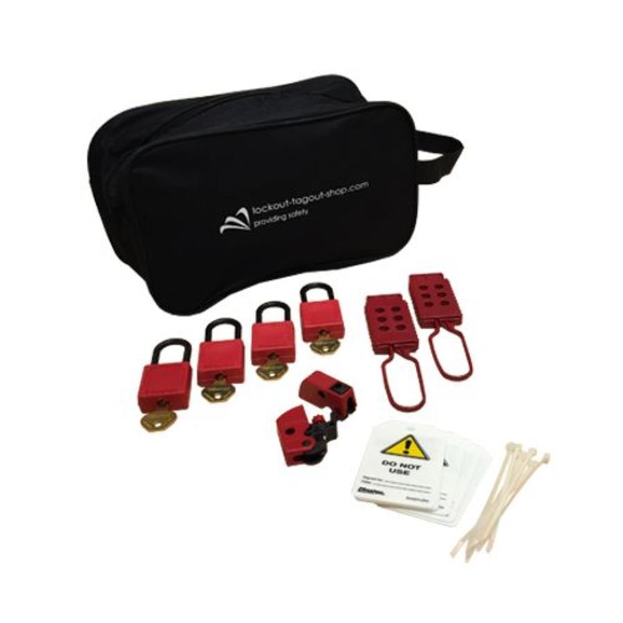 Filled lock-out pouch U1015E410KA