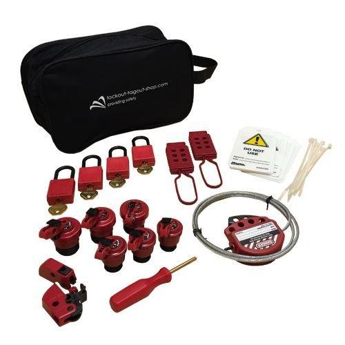 Extensive filled lock-out pouch U1015EU410KA