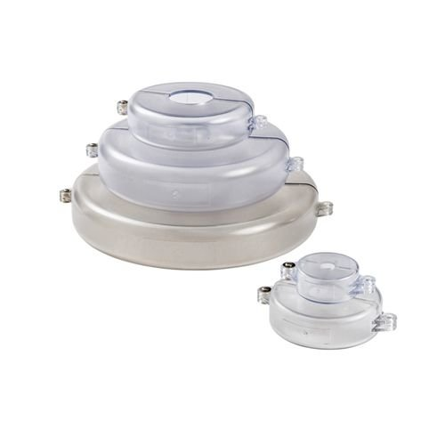 Set of Lock-out devices for valves transparent 196216