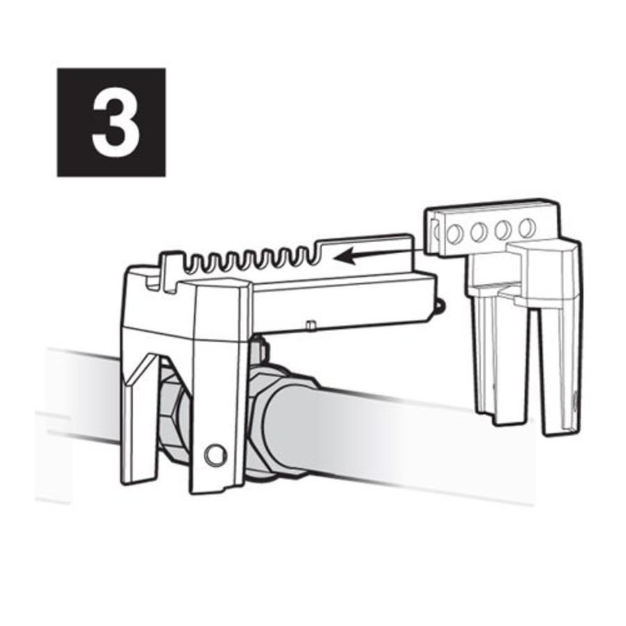 Universalschließung für Kugelventilen S3080