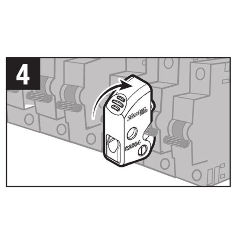 Masterlock universal circuit breaker lock-out S2394 - lockout-tagout ...