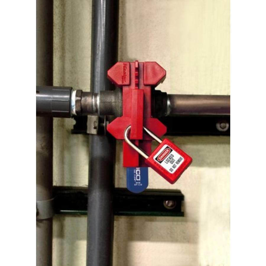 Adjustable ball valve lock-out S3081