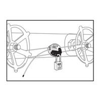 Kabelvergrendeling S806D in blisterverpakking