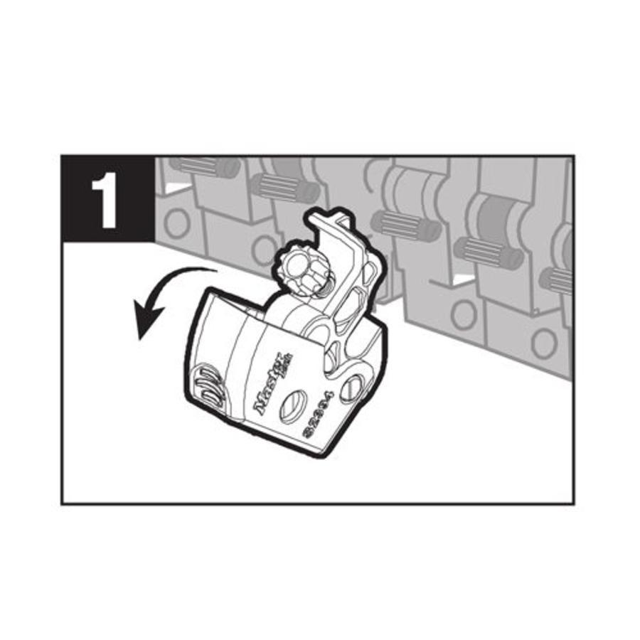 Universeller Leitungsschultzschalter-Verriegelung S2394D in SB-Verpackung