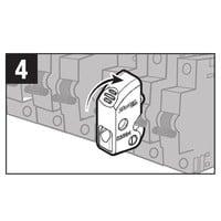 Universele vergrendeling voor stroomonderbrekers S2394D in blisterverpakking