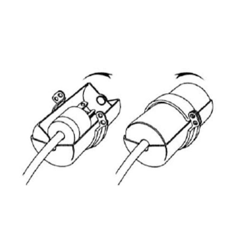 Verriegelung für Steckverbindungen 487D in SB-Verpackung. - lockout ...