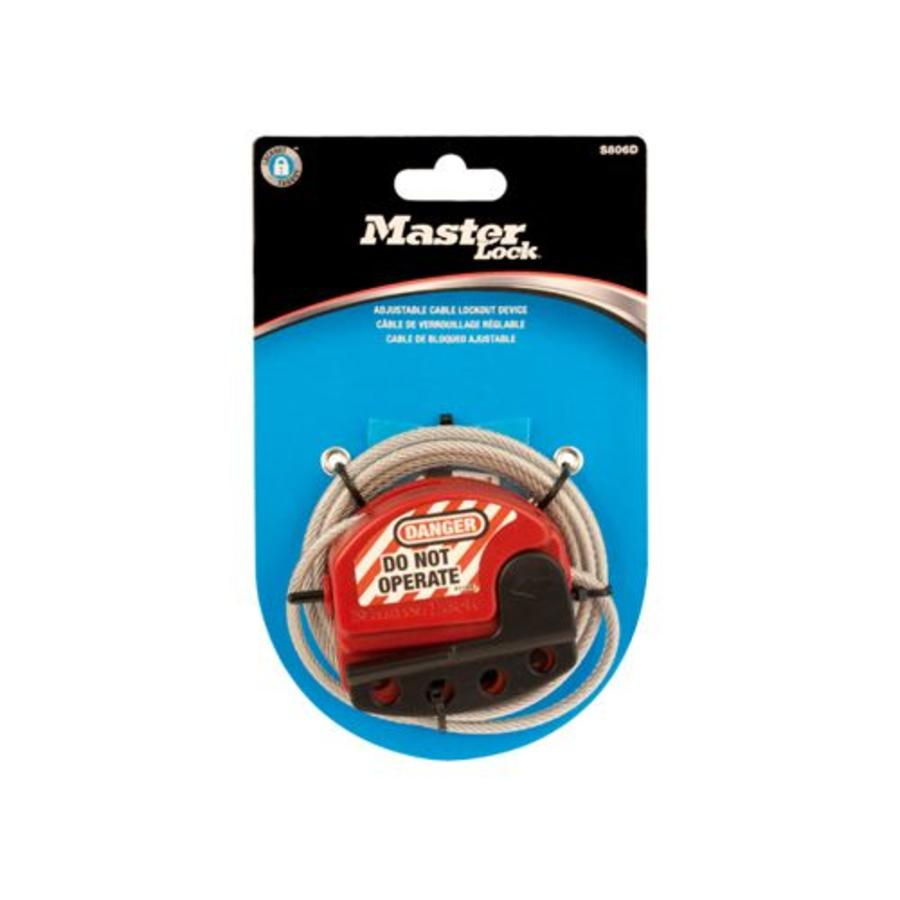 Lock-out cable S806D in blister packaging