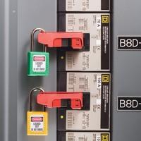 Leitungsschultzschalter-Verriegelung 506 (491B und 493B)