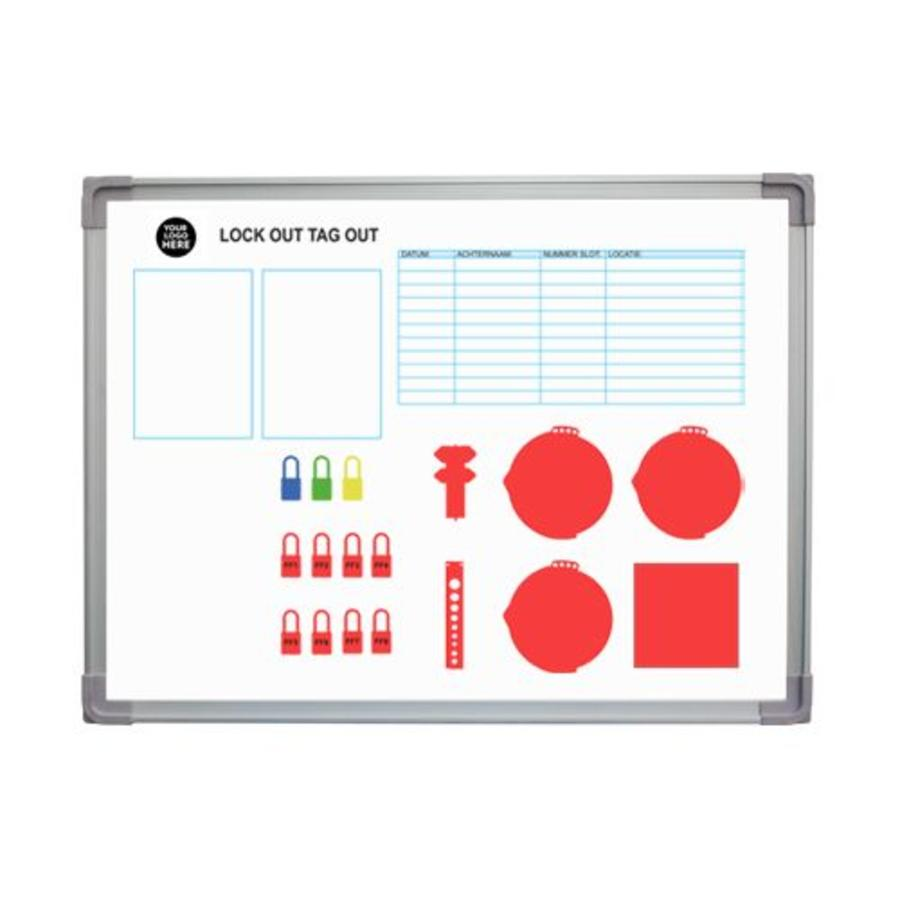 Custom Lockout-Tagout shadow board
