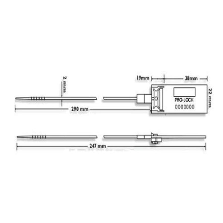 Sicherheits-Seal (1000 Sütck) SS-01
