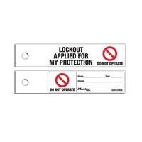 Sicherheits-/Wartungsetikett S297