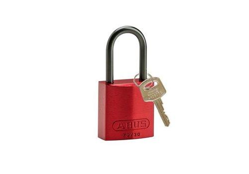 Geanodiseerd aluminium veiligheidshangslot rood 834864