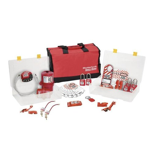 Filled lock-out toolbox 1458ES31