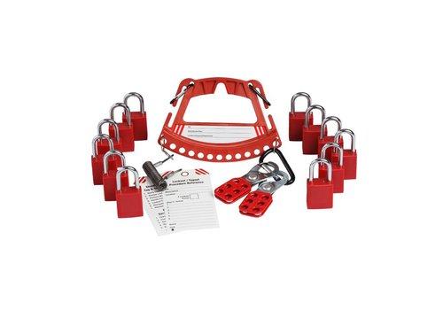 Kit mit Träger für Sicherheitsschlösser 148867