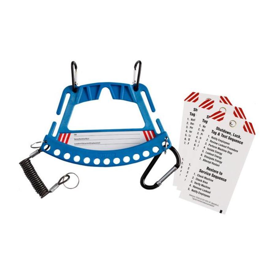 Drager voor veiligheidssloten en tags 148866-148861-148862-148865