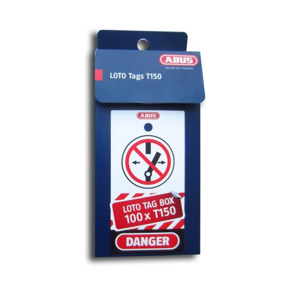 Veiligheidstags polypropyleen T150