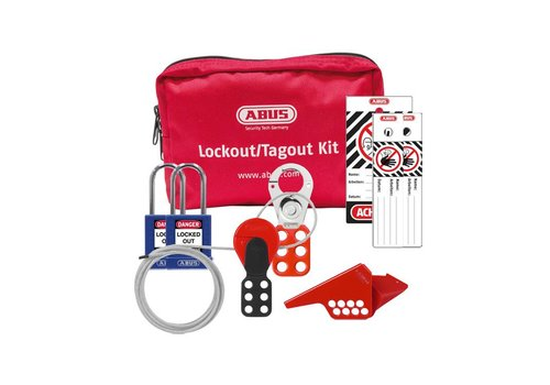 Filled Lock-out pouch SL Bag 121 mechanical